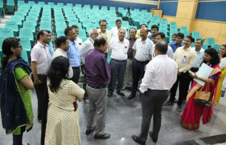 Commissioner PCMC interacting with the participants PCMC Mar 2019