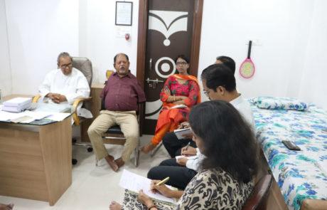 Guidance by Samir Ghosh to Nagai Narayanji Memorial Foundation (an organization working for corrective surgeries of children with disabilities), Nagpur, Apr 2019