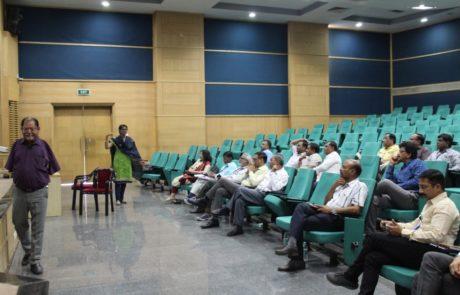 Sonali Madikunt presenting the status of vulnerable groups PCMC Mar 2019